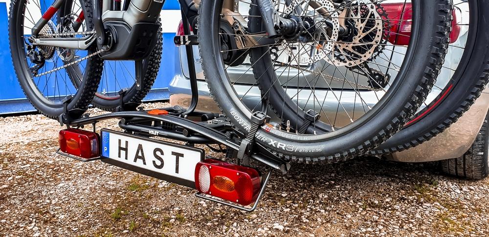 Hast 910002 Portabicicletas de Bola para 2 Bicicletas