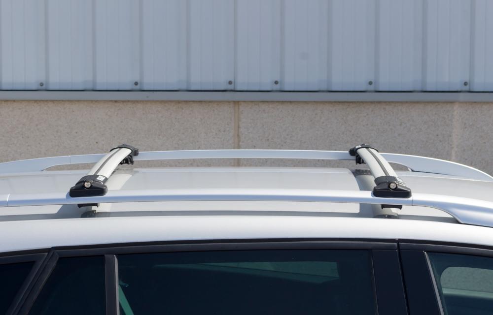 SEAT Alhambra en adelante 2010 barra transversal de Aluminio Bloqueable Rack 75 kg capacidad